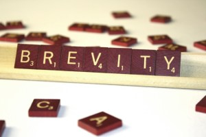 Brevity - How to decrease word count (or page length)