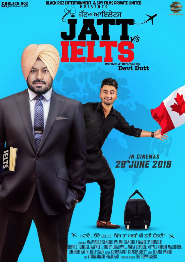 jatt vs ielts punjabi movie