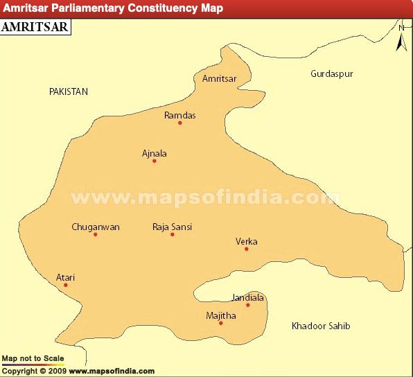 Amritsar Lok Sabha Constituency