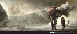 Riddick: Badlands (artwork by Vance Kovacs)