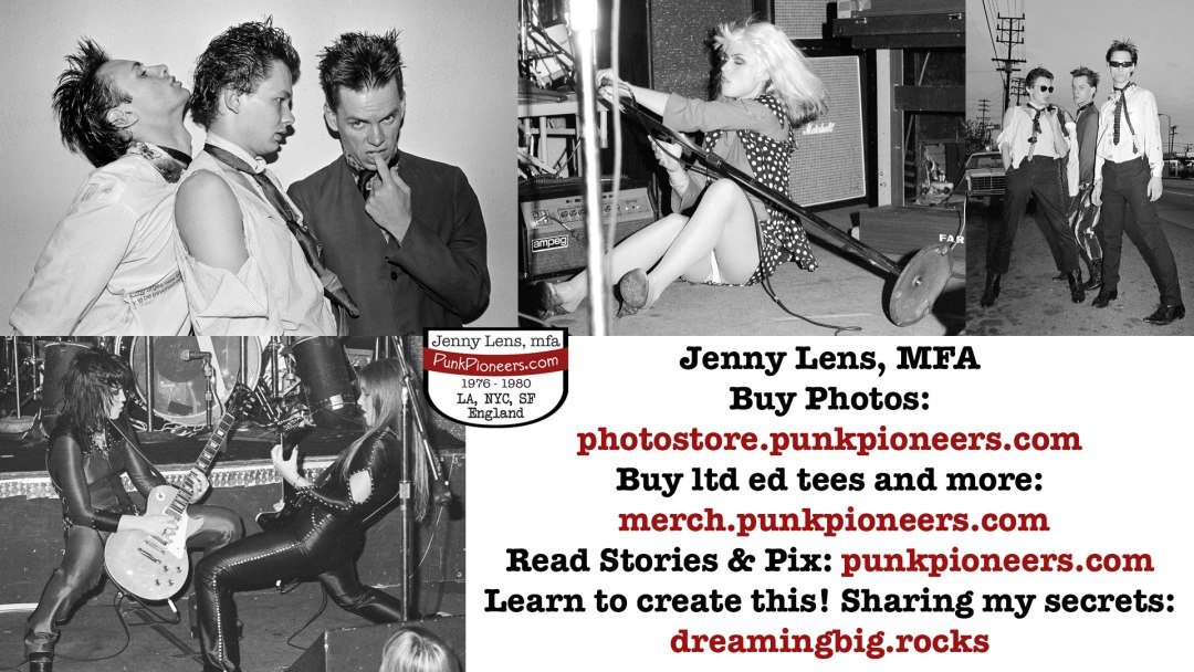 April 1977 When Punk Broke Big in LA with Jenny Lens Punk Photos