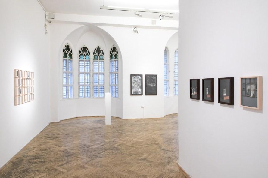 Máté Dobokay : Ag, exhibition view. Photo: Capa Center