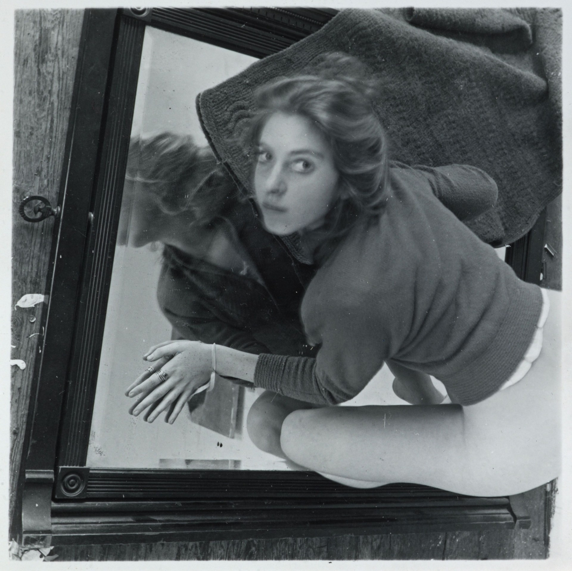 Francesca Woodman: Untitled, Providence, Rhode Island, 1975-1980. Scottish National Portrait Gallery