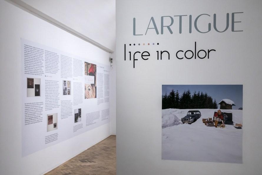 Jacques Henri Lartigue – Life in Color, enteriőr. © Capa Központ.