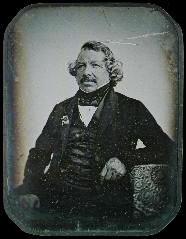 Jean-Baptiste Sabatier-Blot:  Louis Daguerre, 1844. Fotó: George Eastman House.