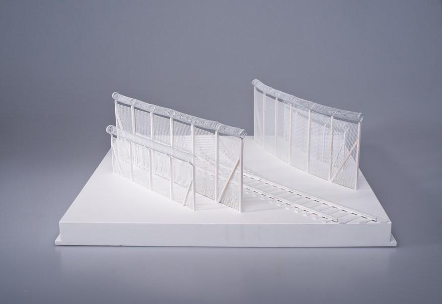 Részlet Łukasz Skąpski The Clinch – New Architecture of European Borders című sorozatából. Calais, France, 2017.  A művész jóvoltából.