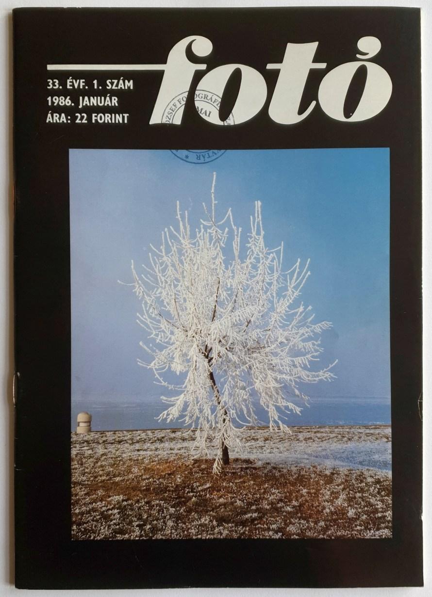 Fotó magazin, 1986. január. Fotó: Punkt.