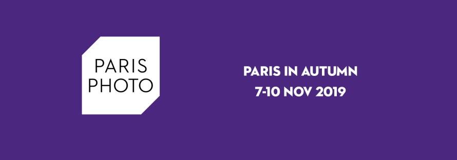 A Paris Photo hivatalos fejléce, logója.