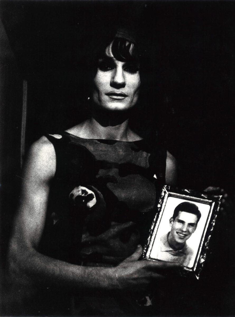 Lisetta Carmi: Dalida, from the I travestiti [The Cross-dressers] series , 1965-1967. Courtesy of Martini & Ronchetti.