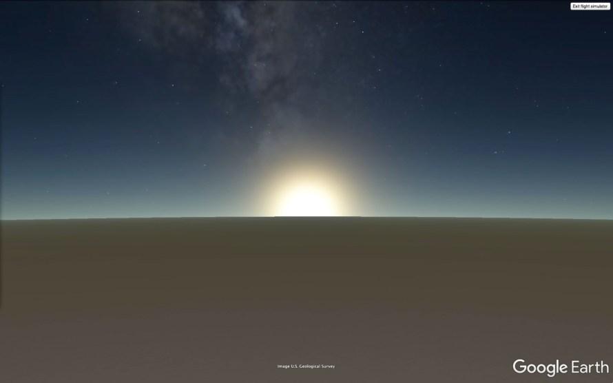 Johan F. Karlsson: Double Sunrise, Antarctica, 7h 55min