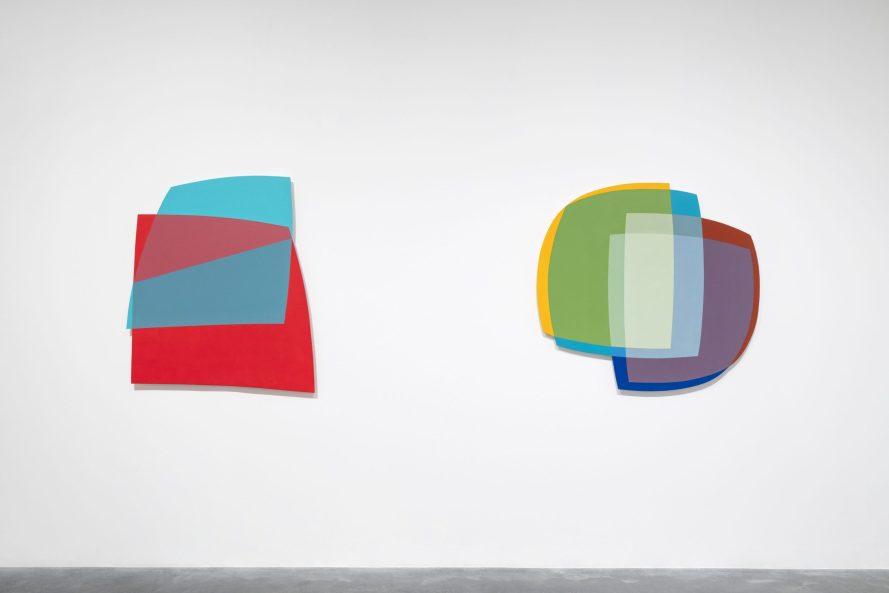 Installation of Dóra Maurer at Tate Modern © Tate (Matt Greenwood)