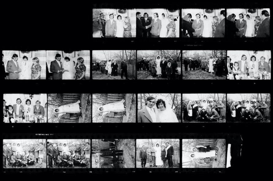 Maxim Dondyuk: Talált kontaktfelvételek a csernobili fotográfus lakásából.  Untitled Project from Chernobyl