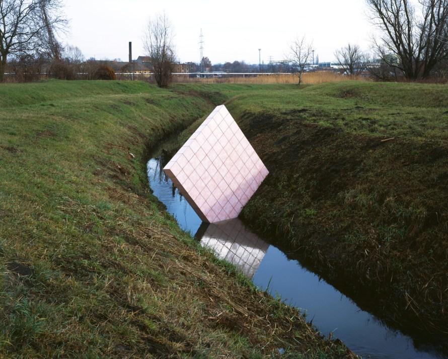 Gyenis Tibor: Vidéki kirándulás, január 9. / Countryside Excursion, 9th January 2003-2004, lambda print on wood, 80 x 100 cm