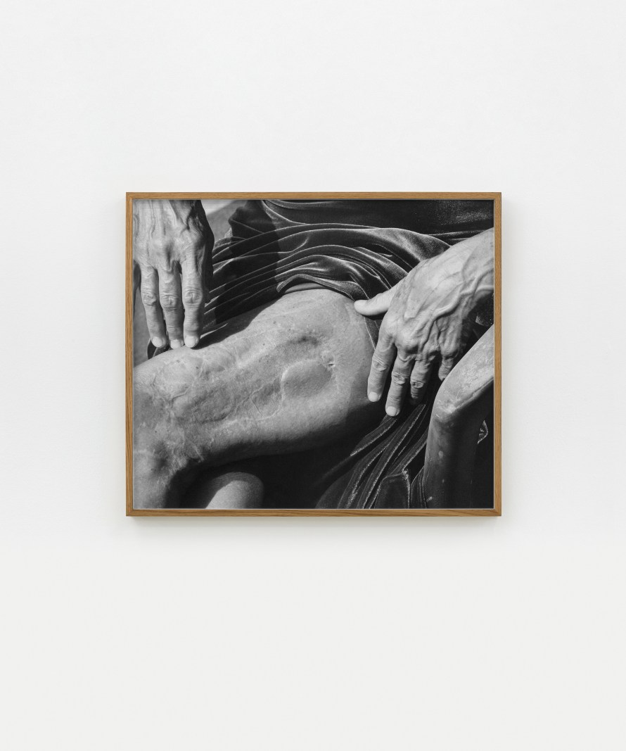 Márton Perlaki: The Accident, 2018, giclée print fibre-based paper, 84.65x73 cm. Photo: Dávid Biró