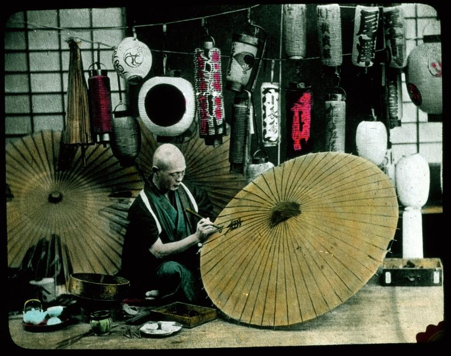 """Herbert Geddes' """"Life in Japan"""" Collection"""