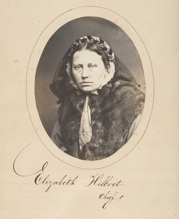 Fotó: Samuel G. Szabó: Tolvaj portréja, 1857. The Metropolitan Museum of Art