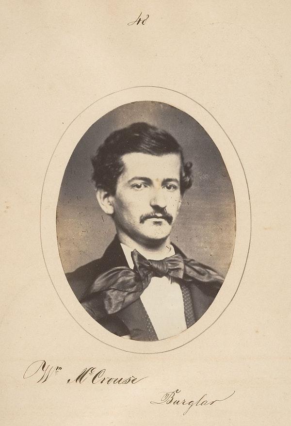 Fotó: Samuel G. Szabó: Betörő portréja, 1857. The Metropolitan Museum of Art