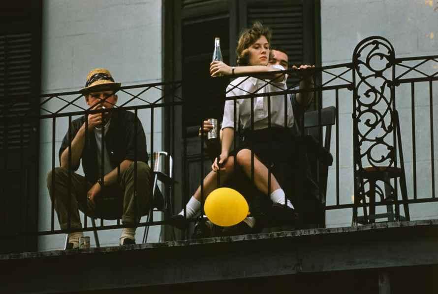Fotó: Ernst Haas: New Orleans, 1960 © Ernst Haas Estate
