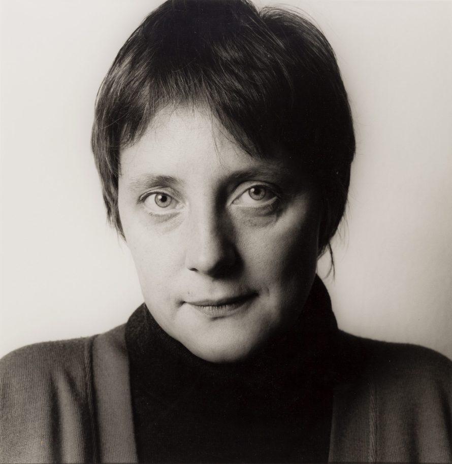 Fotó: <b>Herlinde Koelbl</b>:<br> <i>Angela Merkel (from the series »Spuren der Macht«), 1991</i><br> © OstLicht Photo Auction