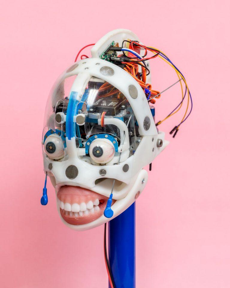Fotó:<b> Alastair Philip Wiper</b>: Robot Head, Series: Pleasure Points (2020)