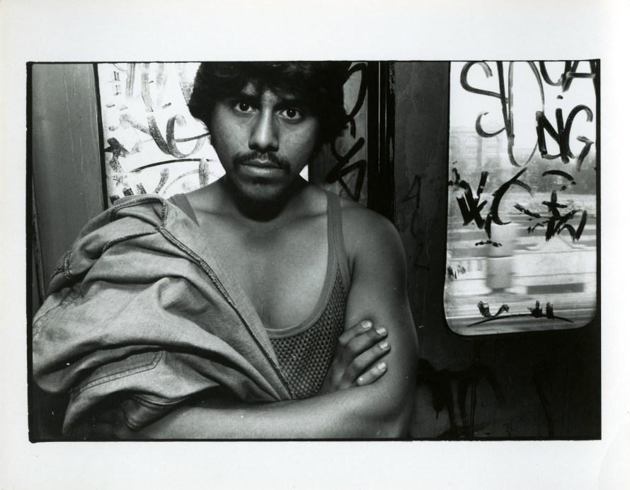 Fotó: <b>Bruce Davidson</b>: from the series Subway, 1980<br> © Bruce Davidson/Magnum Photos