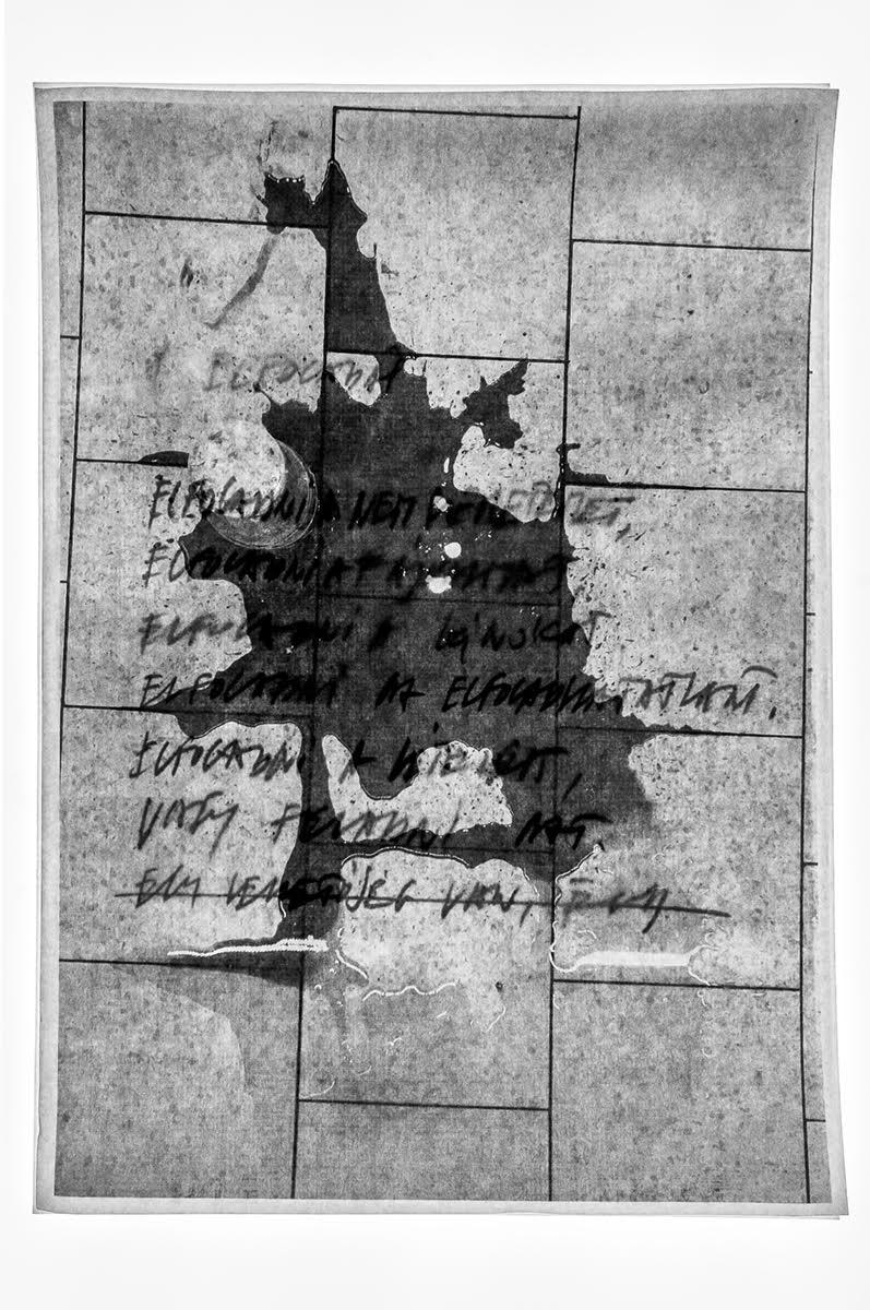 Fotó: Csontó Lajos: Elfogadni, részlet a Kutya év című sorozatból, 2020, c-print, 60x90 cm