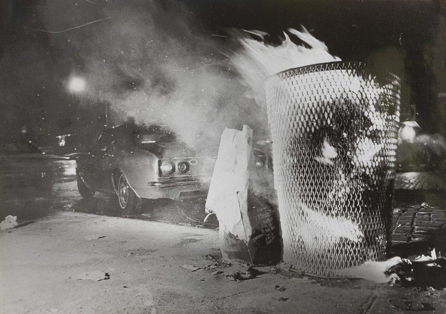 Fotó: <b>Lőrinczy György</b>: New York, New York, 1968<br> zselatinos ezüst nagyítás, 172x242 mm, a Vintage Galéria jóvoltából