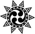Polnisches Sonnensymbol