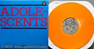 Adolescents LP on translucent orange vinyl
