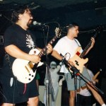 Dazzling Killmen at Lounge Ax. Photo by MXV in 1993?