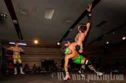 Pauly Thomaselli/Justin Dredd vs. Justin Reno/Buddy Roberts Jr.