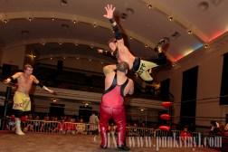 Tony Scarpone/Xavier Mustafa vs. Zack Gowan/Ruff Crossing