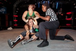 Crazy Mary Dobson vs. Mickie Knuckles