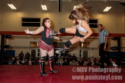 Mickie Knuckles vs. Crazy Mary Dobson