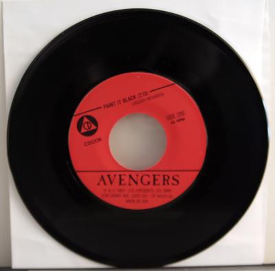 Avengers 7 inch black