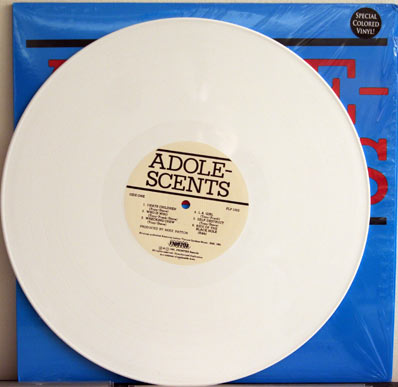 Adz LP on white