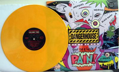 Dangerhouse Volume 2 on yellow