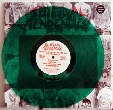 ST green vinyl