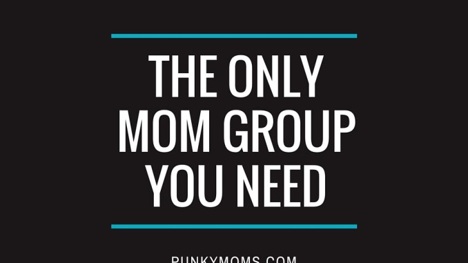 join the mom group