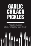 These pickles are like the perfect pregnancy craving food don't you think? Garlic Chilaca Pickles yummmmm