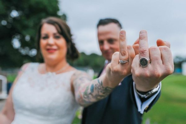 Our favorite Punky Mom Weddings Ever PLUS a Bonus Modern Love Mixtape of alternative songs to play to walk down the aisle. Searching for the perfect punk wedding? Search no more...