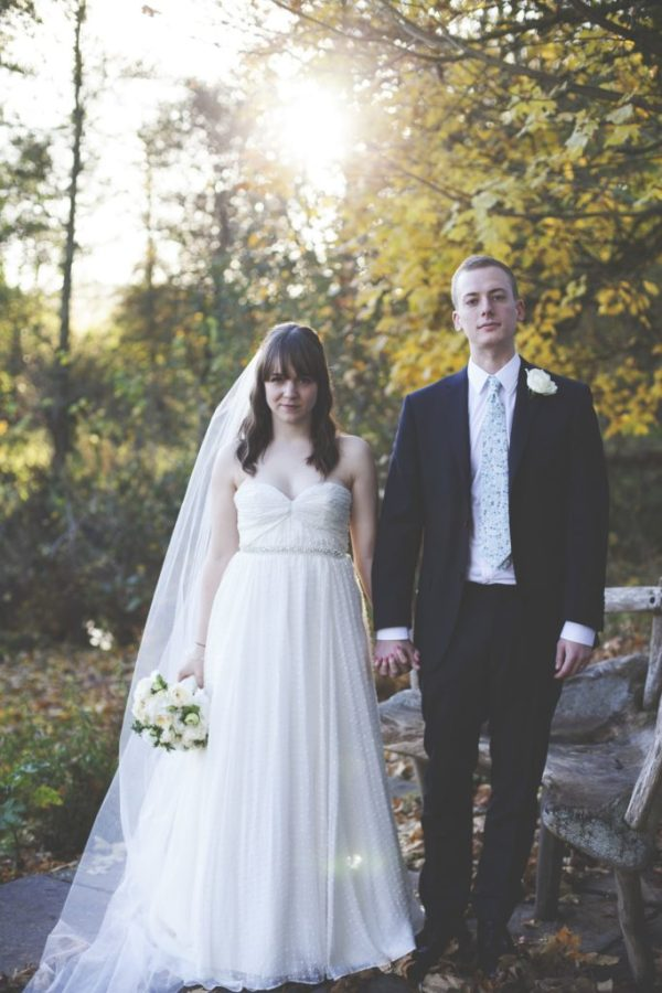 Becca The Bride. A roundup of our favorite Punky Mom Weddings Ever PLUS a Bonus Modern Love Mixtape of alternative songs to play to walk down the aisle.