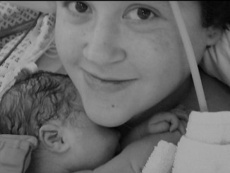 The birth story of Rowan may not seem like you typical empowering birth but we promise it is. Skin to skin and feeding right away with Clare's c-section.