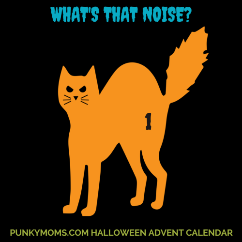 What's that noise? Come celebrate Halloween the whole month of October with our online Halloween Advent Calendar at Punky Moms. 31 days of spooky treats and ghoulish goodies.