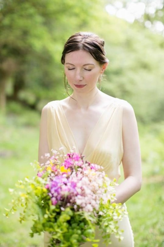 Punky Moms alternative wedding - Kate's outdoor wedding in Dartmoor
