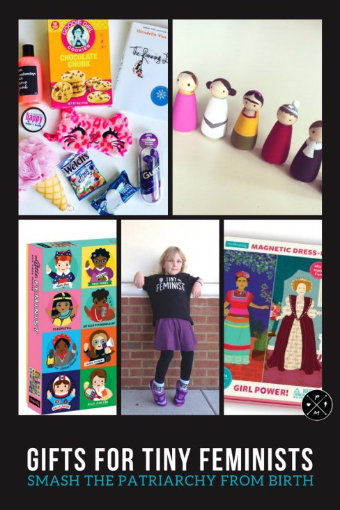 Do you want to spread intersectional feminist pride with every gift that you give? For all of the tiny feminists in your life, here's an awesome selection.