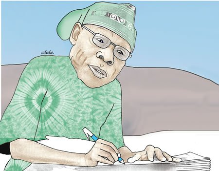 Letter to the Nigerian people. Signed: Your Politician