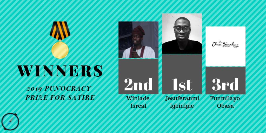 Igbinigie, Isreal, Obasa emerge winners of PuPS writing competition '19