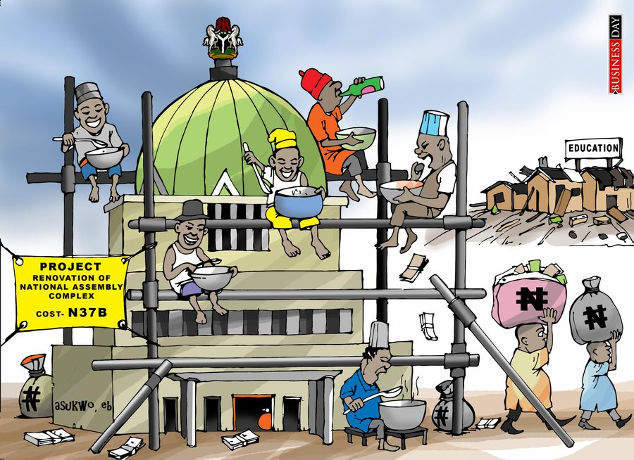 The ugly National Assembly and beautiful Nigerian roads