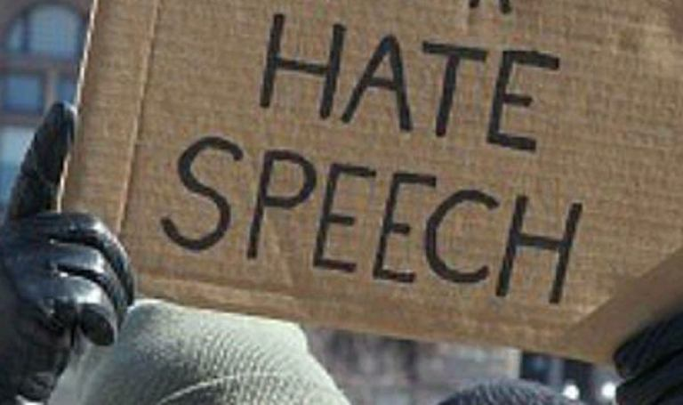 Hate Speech: I am the Law, and the Law shall not be mocked!